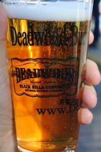 photo of beer on Deadwood's main street