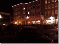 photo of the new years ball drop Deadwood SD