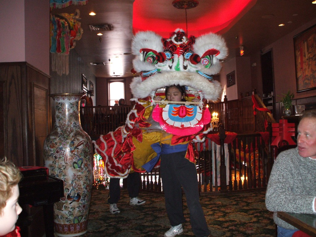 photo dancers at the chinese new year celebration in deadwood sd