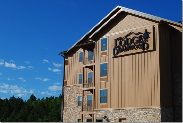 photo the lodge at Deadwood