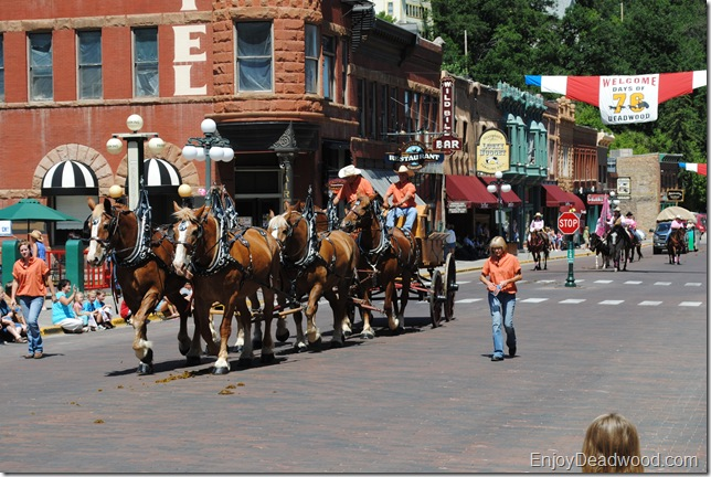 image Days of 76 Parade Deadwood South Dakota