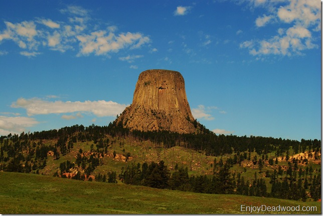 photo Devils tower Wyoming