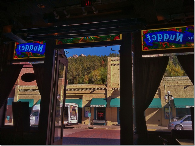 picture of the nugget bar in Deadwood sd