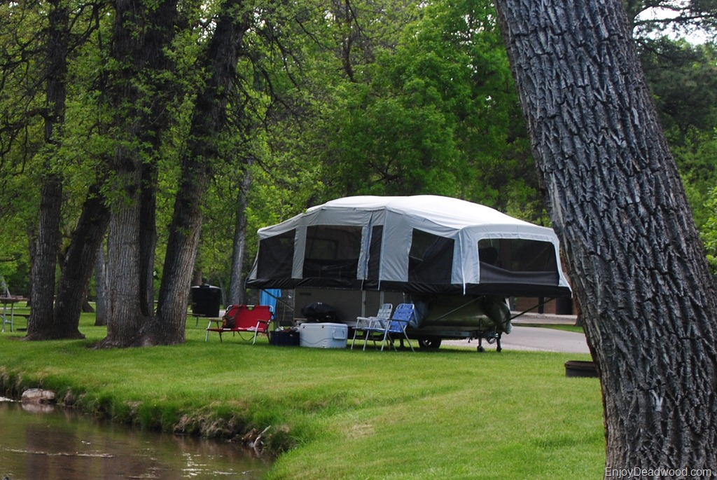 plenty of camping options when visiting Deadwood