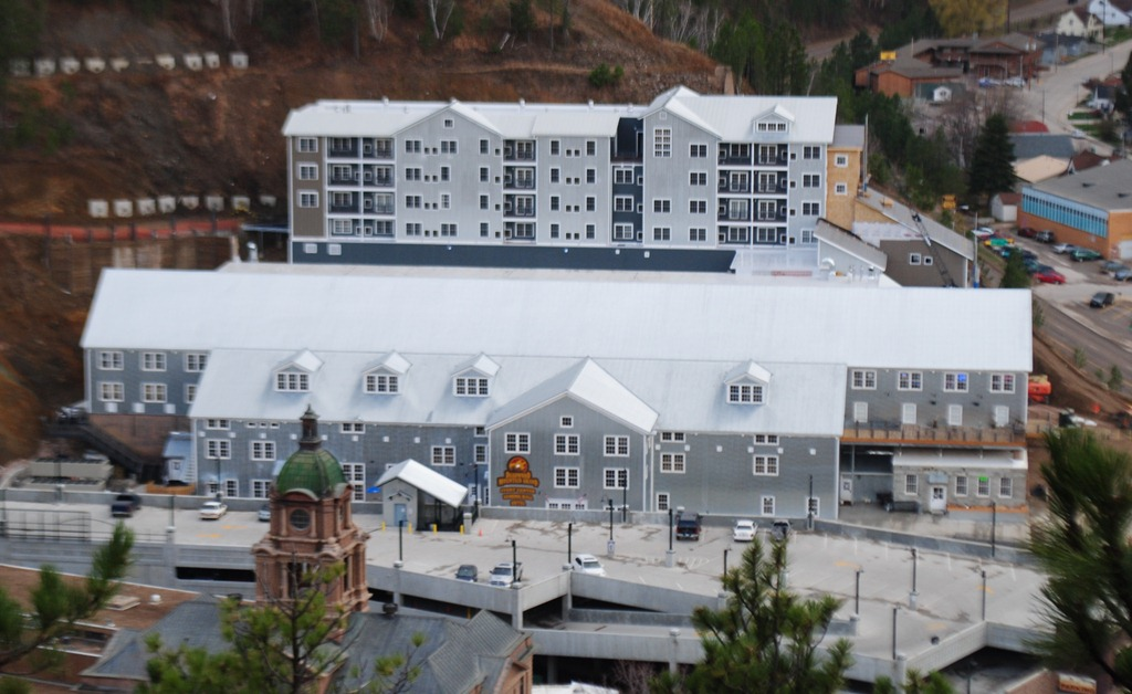 Deadwood's newest hotel at the Deadwood Mountain Grand