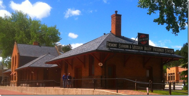 photo of Deadwood South Dakota visitors center
