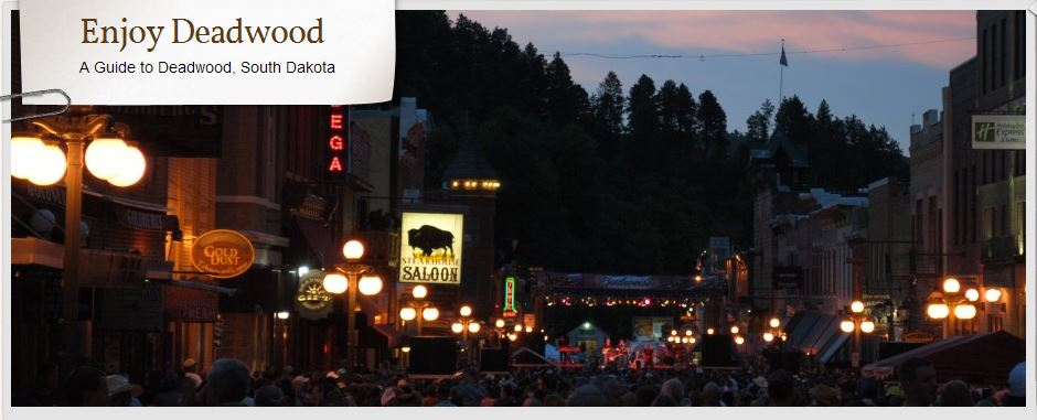Enjoy Deadwood header image