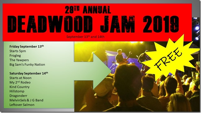 2019 Deadwood Jam